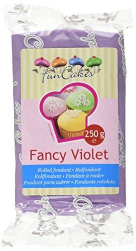 FunCakes Pasta di Zucchero Viola Fancy - 250 gr