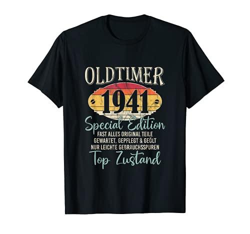 Oldtimer Modell 1941 - 80. Geburtstag T-Shirt