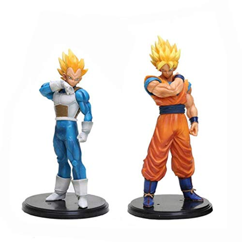 MNZBZ Anime Figures 2020 Nuevo 22cm Dragon Ball Z Goku Vegeta Figura de acción Colección de PVC Modelo de Juguetes brinquedos Juguetes para niños
