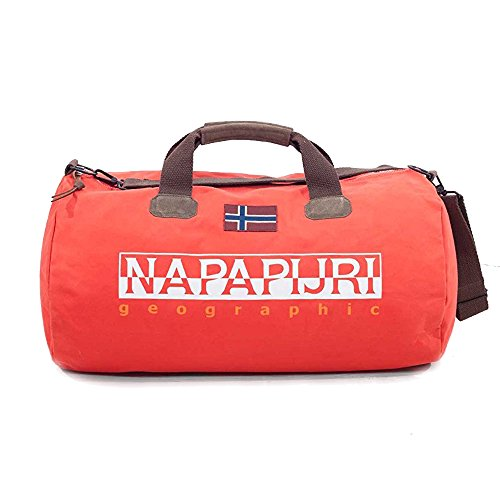 Napapijri Bags Sac de Sport Grand Format, 60 cm, 48 liters, Rouge (Bright Red)