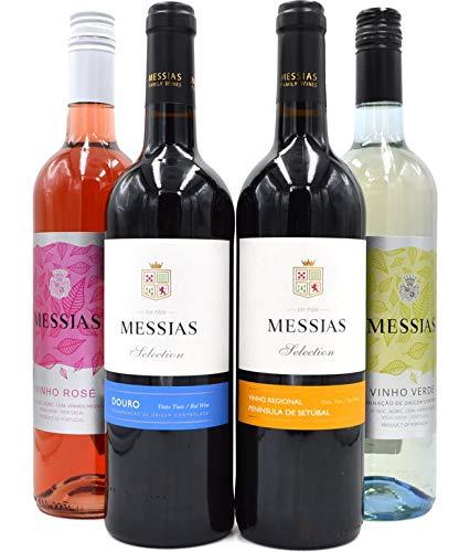 Messias Wein Paket (Peninsula,Duoro,Vinho Rosé,Vinho Verde) 4x0,75l