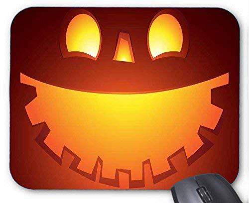 Mousepad Caras sonrientes de la Calabaza de Halloween Alfombrilla De Raton