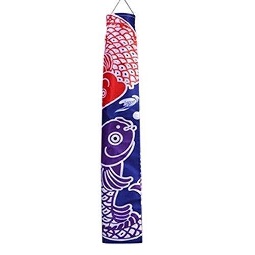 Goddness Bar Hängende Flagge im japanischen Stil Restaurant Hängende Ornamente Karpfenflagge (Stil 10)