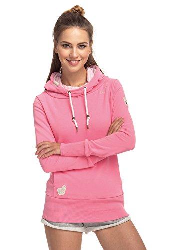 Ragwear Sweater dames YODA Sweat 1811-30017 Pink Pink 4043
