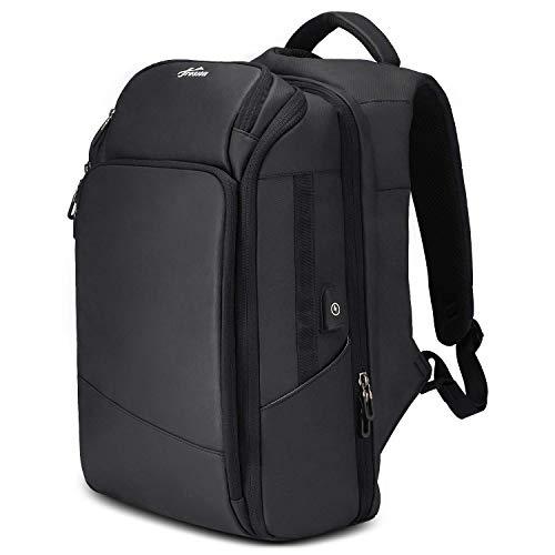 """Fresion Herren Rucksäcke Wasserdicht Reiserucksack - 17,3"""" Laptop/Notebook Rucksack mit USB-Ladeanschluss Für Business Arbeit Reisen Wandern von Fresion(17.3 Zoll - Schwarz)"""