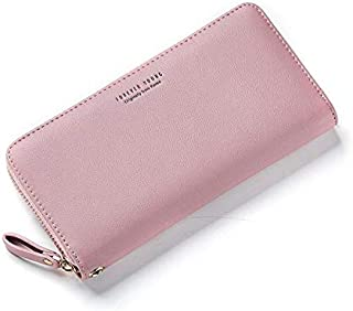 Women Long Wallet Wristband Large Capacity Wallets Female PU Leather Purse Lady Coin Purses Phone Card Holder