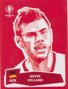 Panini UEFA EURO 2016 France - Kevin Volland (Coca Cola Sticker)