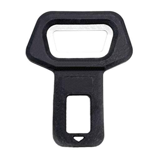 nine 1PC Universal Car Fahrzeug-Flaschenöffner Sicherheitsgurtclip Doppelte Verwendung für Auto-Autozubehör-Werkzeug (schwarz)