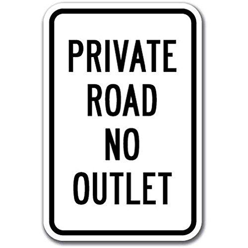 Ditooms privé weg geen stopcontact teken 12