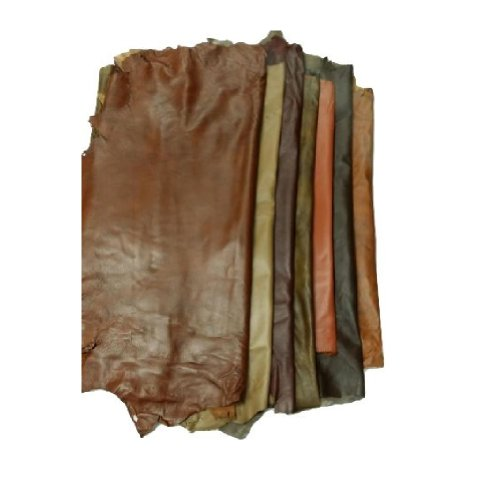 Various Designs /& Colors Exotic Leather Hides Leather Hide Skins 7 to 10 Sf Green
