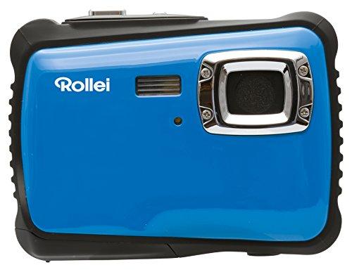 Rollei Sportsline 64 - Cámara digital con Zoom óptico 8x, Sensor CMOS de 5 MP y función vídeo HD - Azul