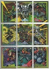 Marvel Universe 1993 Series 4 Base Set 180 Cards