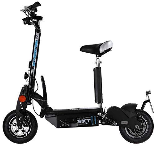 Elektrische scooter SXT500 Eec Restyling elektrisch zwart 36 V 20 Ah LiFePo4 lithium met Stvzo