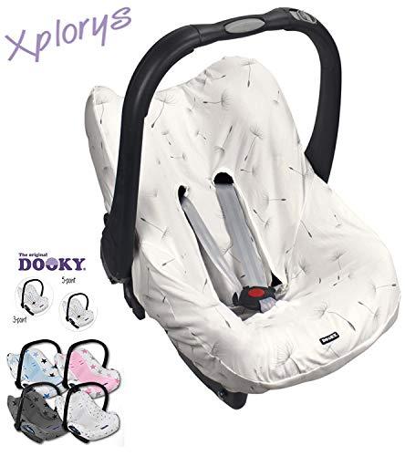 DOOKY BabyFit - Housse universelle pour 3 et 5 points de sangle - Siège auto comme pour Maxi-Cosi, Cybex etc.