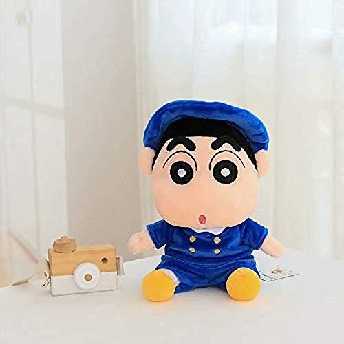Muñeco de Peluche Crayón Shin-Chan de 26 cm Crayón de Juguete con Figura de acción Impermeable Niño con Mochila Superman