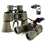 20X50 Ad Alta Potenza Militare Binocoli, Binocolo Professionale, Binocolo Visione Notturna Bassa per...