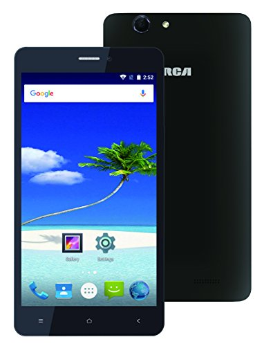 RCA 6-Inch Unlocked 4G LTE, Quad Core, Quad Band, Dual SIM, Android World Smartphone with High Res IPS Touch Screen and Dual Camera, Black