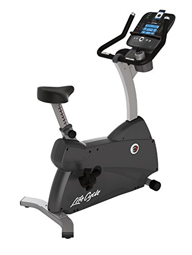 Life Fitness - bicicleta estática C3 con consola TRACK+