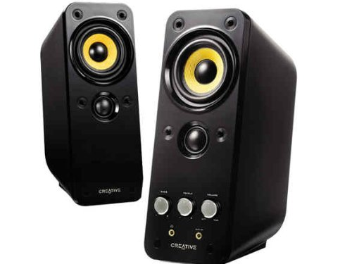 Creative Labs GigaWorks T20 Series II - Altavoces (Mesa/Estante, PC, Integrado, Alámbrico, RCA / 3.5mm, 50-20000 Hz)