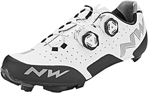 Northwave Rebel Road Shoe Blanco, Tamaño:gr. 48