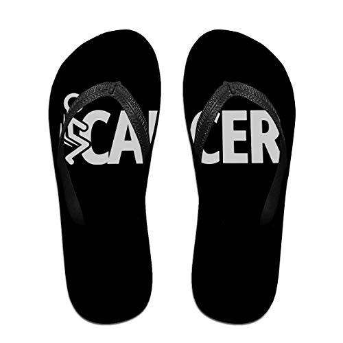 Iop 90p Fuck Cancer Flip Flops Slippers Beach Sandals Pool Shoes