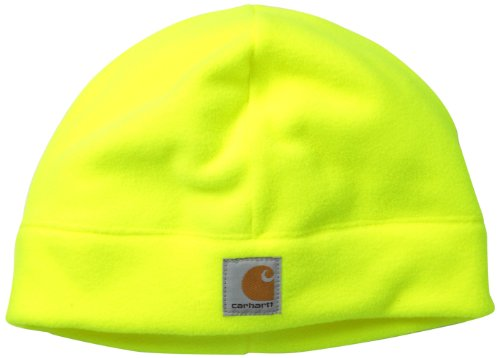 Carhartt Men's High Visibility Color Enhanced Beanie,Brite Lime,One Size