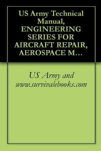 US Army Technical Manual, ENGINEERING SERIES FOR AIRCRAFT REPAIR, AEROSPACE METALS - GENERAL DATA AND USAGE FACTORS, TM 43-0106, 2005 (English Edition)