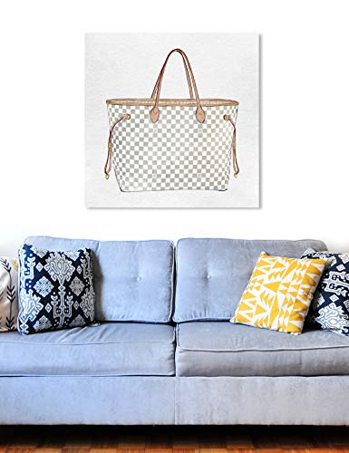 Fashion Shopping The Oliver Gal Artist Co. Fashion and Glam Wall Art Canvas Prints 'Royal Handbag