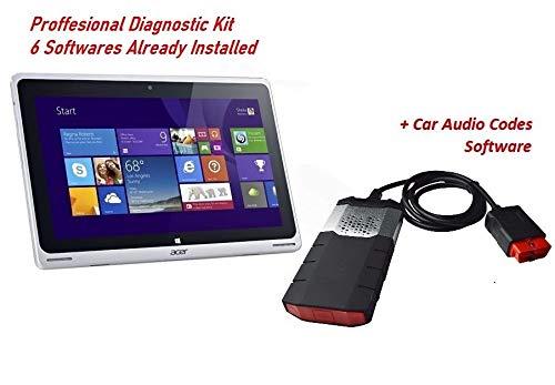 Delphi All-in-One Universal-Diagnose-Scanner für das Auto, Acer Tablet