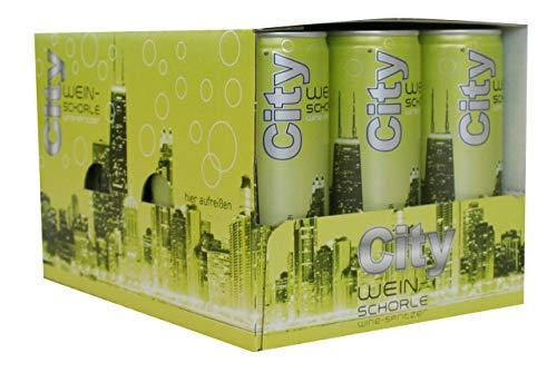 City Weinschorle weiss lieblich (12 x 0,25l)