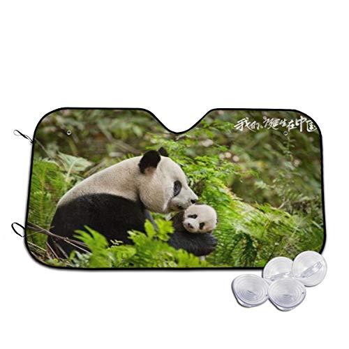 Parasol para Parabrisas Delantero de Coche con diseño de Panda Ver Imagen...