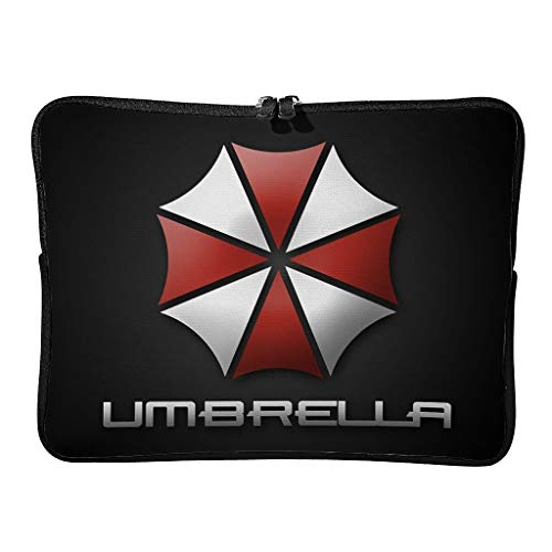 5 Sizes Corporation of Umbrella Laptop Bags First-Class Large - Horror Scary Laptop Sleeves Suitable for School White 15 Zoll