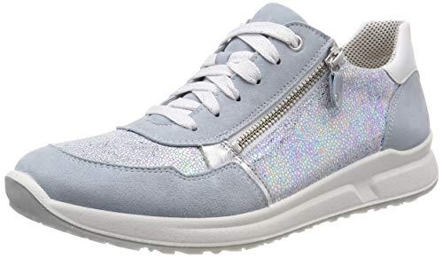 Superfit Mädchen Merida Sneaker, Blau (Hellblau 85), 28 EU