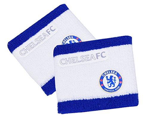 Official Football Merchandise Lot de 2 bracelets/Bandeau (équipe de Football au choix - - Taille unique