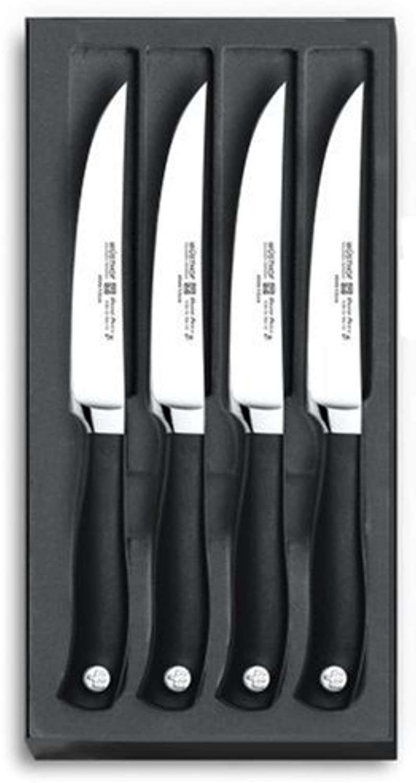 WÜSTHOF Steakmessersatz, 4-teilig, Grand Prix II (9625) 4 Steakmesser Steakmesser Steakmesser mit 12 cm Klinge, Fleischmesser, Edelstahl, geschmiedet, sehr scharf B000FMVGTM 6b4b1f