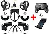 Oculus Rift - Juego de Soportes de Pared Sensor, táctil, Auricular Negro (Steam 6 Piezas).