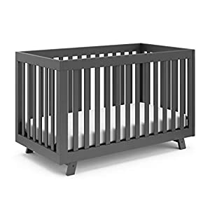 Storkcraft Beckett 3-in-1 Convertible Crib Fixed Side Crib