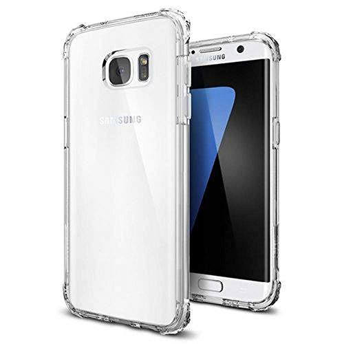 Capinha Silicone Transparente Antichoque Samsung S7 Edge G935F