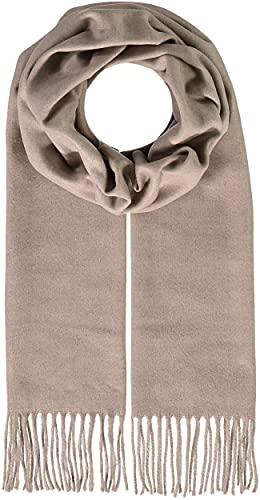FRAAS Edición sostenibilidad - Bufanda de Cashmink® a cuadros fabricada en Alemania, fular para mujeres, 30 x 180cm, pañuelo de material suave y confortable, chal para otoño-invierno