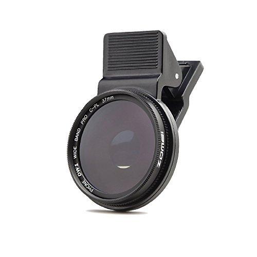Lente CPL Zomei professionale per fotocamera cellulare, circolare, polarizzata, da 37mm, per iPhone 6S/6S Plus/Samsung Galaxy/Windows e Android Smartphone