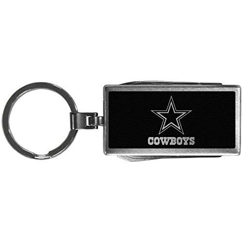 NFL Siskiyou Sports Fan Shop Dallas Cowboys Multi-tool Key Chain, Black One Size Black