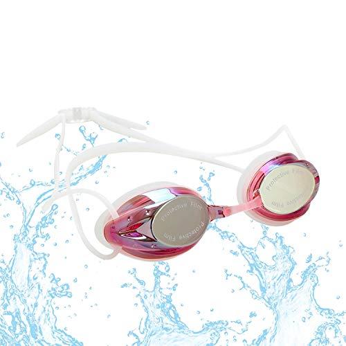 FTALGS Gafas de Natación, Antiniebla Gafas para Nadar Protección UV sin Fugas Gafas para Nadar Gafas De Natación Antigoteo,Gafas de Piscina para Adultos Y Niños de Mas de 10 Años