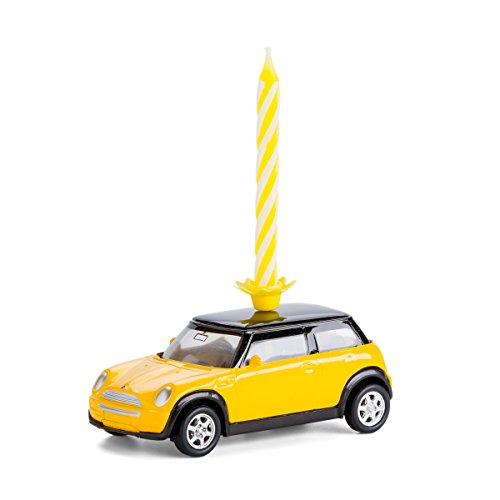 corpus delicti :: Geburtstagskerze auf Rädern - Mini Cooper (gelb) (20.3K)