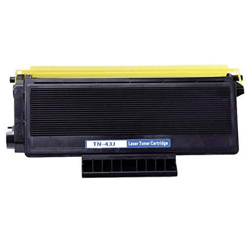 Cartucho de tóner compatible Brother TN-43J, compatible con HL-5030/5040/5050 / 5070N / 5140 / 5150D / 5170DN / 5150D / 5170DN / 1650/167 Cartucho de tóner negro tod