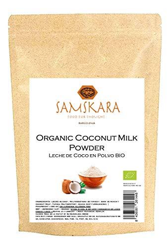 Leche de coco en polvo | Orgánica | BIO | Vegana | Sin Gluten | Samskara (500gr)