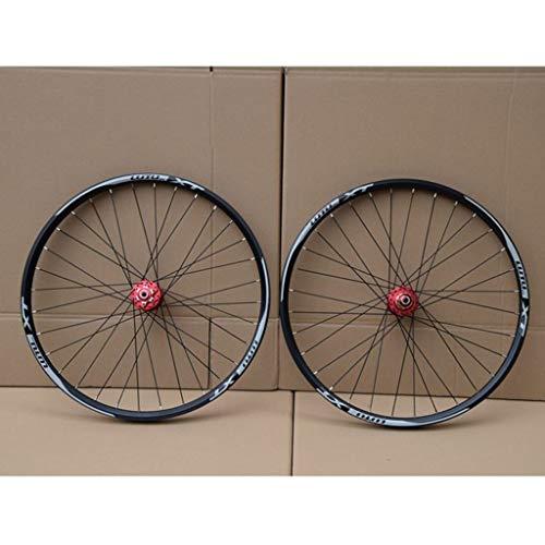 MZPWJD VTT Paire Roues pour Vélo 26 27.5 29 in Roue Vélo Montagne Jante en Alliage Double Couche...
