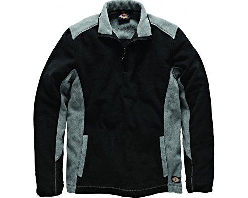 Dickies JW7011 - Bicolor jersey de lana gris/gybl negro,