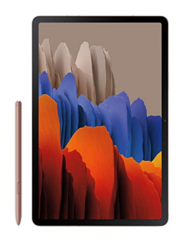 Samsung Galaxy Tab S7 27,9 cm (11 Zoll) Android Tablet 128 GB Wi-Fi Bluetooth S Pen Schnelllade-USB-C-Anschluss, Mystic Bronze