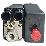 morytrade エアー コンプレッサー スイッチ 圧力スイッチ プレッシャースイッチ 部品 パーツ 24V プッシュ プル 型 1ポート