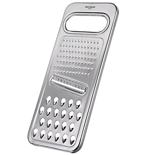 Westmark Rallador universal, 3 en 1, acero inoxidable, Steel, plateado, 10022270